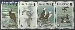 Isle Of Man 1989 Mi 408-411 MNH ( ZE3 IOMvie408-411e ) - Marine Web-footed Birds