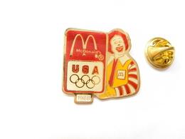 Beau Pin's , McDonald's , McDo , JO , Jeux Olympiques USA - McDonald's