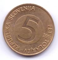 SLOVENIA 2000: 5 Tolarjev, KM 6 - Slovenia