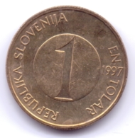 SLOVENIA 1997: 1 Tolar, KM 4 - Slovenia