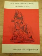 Leuven Genummerd Een Overgetelijke Bloednacht 1903 Socialisten Prosper Van Langendonck Rare - History