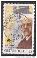 """Österreich 2011: """"100 Jahre Krebshilfe""""  Gestempelt(siehe Foto/Scan) - 2011-... Gebraucht"""