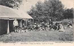 BOUAFLES - Camp Des Pilotins - La T.S.F. Le Soir - France