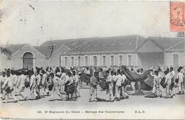 ANGERS : 6° GENIE : BATTAGE DE COUVERTURES - Angers