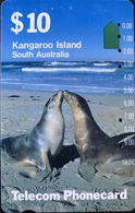 AUSTRALIE  -  Telecom Australia  -  Kangaroo Island  -  $ 10 - Australië