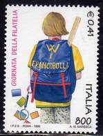 ITALIA REPUBBLICA ITALY REPUBLIC 1999 GIORNATA DELLA FILATELIA STAMP DAY LIRE 800 € 0,41 MNH - 6. 1946-.. Repubblica