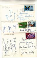 3 Cartoline Etiopia Anni 60 Viaggiate Per Genova - Ethiopie