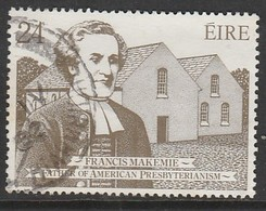 Ireland 1982 The 300th Anniversary Of The Ordination Of Francis Makemies 24p Multicoloured SW 474 O Used - 1949-... Republik Irland