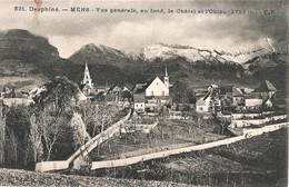 MENS - Vue Générale - Clochers Du Temple Protestant Et De L'église Catholique - Mens