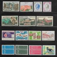MONACO ( MCAC - 15 ) 1971   N° YVERT ET TELLIER  N° 847/866  N** - Monaco