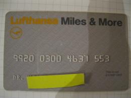 "Télécarte Lufthansa Avion ""miles"" - Phonecards"