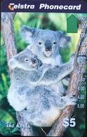 AUSTRALIE  -  Telstra Phonecard  -  Koalas  -  $ 5 - Australië