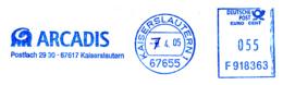Freistempel 2189 Arcadis Dino - Marcophilie - EMA (Empreintes Machines)