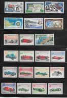 MONACO ( MCAC - 17 ) 1967   N° YVERT ET TELLIER  N° 708/735  N** - Monaco