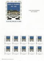 FRANC-MAÇONNERIE - Adhésifs (autocollants)
