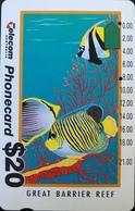 AUSTRALIE  -  Telecom Australia  - Fishs  -  $ 20 - Australië