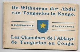 Carnet Complet, 12 CPA, De Witheeren Der Abdij Van Tongerloo In Kongo - Missions