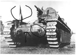 Armée Française  Char Blindé D1 Prototype  RCC BCC - Guerre, Militaire