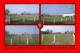 Saint Georges Sur Loire (49 - France) Stade Municipal - Saint Georges Sur Loire