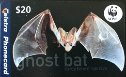 AUSTRALIE  -  Telstra Telecom  -  Ghost Bat  -  $ 20 - Australië