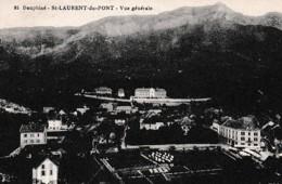 SAINT LAURENT DU PONT ,VUE GENERALE,DETAILS A VOIR !!!   REF 66204 - Saint-Laurent-du-Pont
