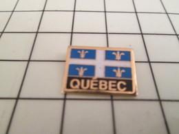 1318A Pin's Pins / Beau Et Rare / THEME : AUTRES / DRAPEAU DU QUEBEC - Pin's