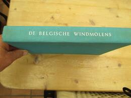 De Belgische Windmolens 1975 Zwart Wit Foto's Meesterwerk - History