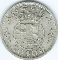 Angola - Portuguese - 20 Escudos - 1952 - KM74 - Angola