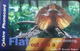 AUSTRALIE  -  Telstra Telecom  - Frill Necked Lizard  -  $ 5 - Australië