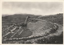 Cartolina - Postcard /  Non Viaggiata - Unsent / Segesta, Teatro Greco. ( Gran Formato ) - Trapani