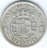 Angola - Portuguese - 10 Escudos - 1955 - KM73 - Angola
