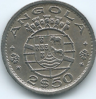Angola - Portuguese - 2½ Escudos - 1956 - KM77 - Angola
