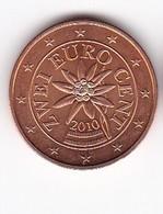 2010 EURO 0,02 - Autriche