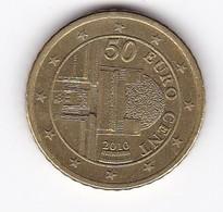 2010 EURO 0,50 - Autriche