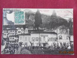 CPA - Brousse (Bursa) - (Turquie D'Asie) - Hôtel D'Anatolie - Vve A. Brotte, Propriétaire - Turkey