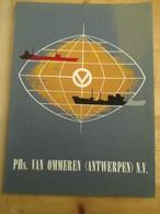 Scheepvaart Antwerpen 1959 Van Ommeren Kongo Lijn - History