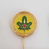 OLD EX YUGOSLAVIA  BOY SCOUT FEDERATION  BADGE  PIN BROCHE DISTINTIVO INSIGNE - Movimiento Scout