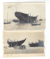 BAHREIN  Boutres Du Golfe Persique 2 Photographies Vers 1935 - Bahreïn