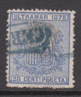 Cuba Sueltos 1875 Edifil 32 O - Cuba (1874-1898)