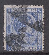 Cuba Sueltos 1876 Edifil 37 O - Cuba (1874-1898)