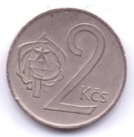CZECHOSLOVAKIA 1976: 2 Koruny, KM 75 - Tschechoslowakei