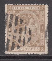 Cuba Sueltos 1878 Edifil 46 O - Cuba (1874-1898)
