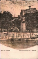 ! 1917 Alte Ansichtskarte Mitau, Schloß, Lettland - Letonia