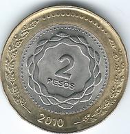 Argentina - 2 Pesos - 2010 - Bicentennial Of 1810 Revolution - KM165 - Argentina