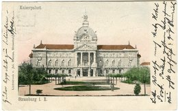 CPA 67 - Strasbourg Strassburg Kaiserpalast Palais Du Rhin Vers 1901 - Strasbourg