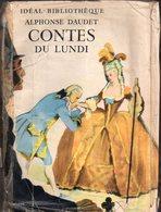 Contes Du Lundi Par Alphonse Daudet - - Ideal-bibliothèque - Bücher, Zeitschriften, Comics