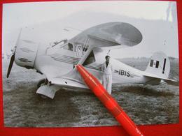 FOTOGRAFIA  AEREO BEECH MODEL 17D STAGGERWING I-IBIS - Aviazione