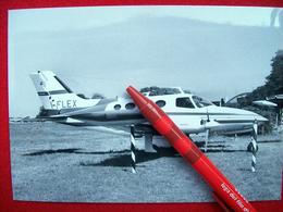 FOTOGRAFIA  AEREO CESSNA MODEL 411A   I-FLEX - Aviation