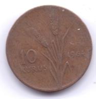 TURKEY 1964: 10 Kurus, KM 891 - Turchia