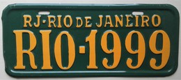 - Plaque Décorative, Style Plaque D'immatriculation. Rio De Janeiro - - Unclassified